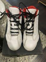 Nike Air Jordan Retro 13 XIII History of Flight White Red 414575 103 Size 2.5Y