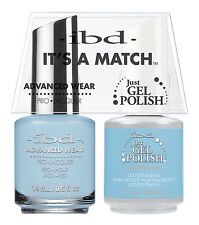 ibd It's A Match Advanced Wear Duo Just Gel & Polish Full Blu-um 65408