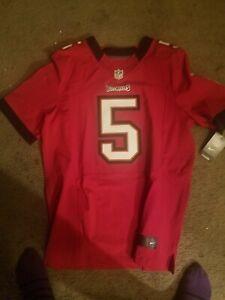 Josh Freeman Nike Elite Authentic Football Jersey Sz 44