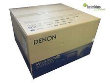 Denon AVR-X7200WA AV-Receiver, Auro 3D, Atmos, HDCP 2.2 (Schwarz) NEU Fachhandel