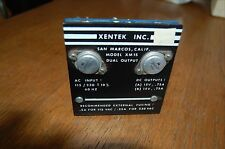 Xentek XM15 dual output power supply 15V 0.75A output