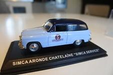 "SIMCA ARONDE CHATELAINE ""SERVICE SIMCA"" 1954 IXO 1/43."
