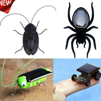 Educational Solar Powered Grasshopper Robot Toy Solar Powered Toy Gadget Gift.