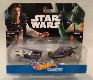 Hot Wheels™ Star Wars™ Character Cars * HAN SOLO™ und GREEDO™ * NEU & OVP