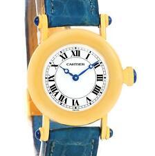 Cartier Diabolo 18K Yellow Gold Small Quartz Ladies Watch 1400