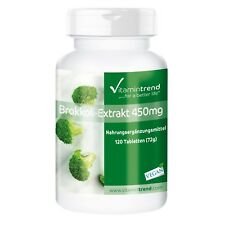 Brokkoli-Extrakt 450mg - 120 vegane Tabletten - mit DIM (300mg Diindolylmethan)