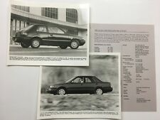 1992 Mazda Protege 323 Original Car Product News Guide Brochure like and Print