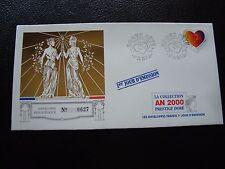 FRANCE - enveloppe 1er jour (collection prestige doré) 6/2/1999 (B5) french