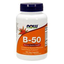 NOW FOODS Vitamin B-50 100 capsule - VITAMINE