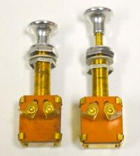 "2 pc - Push/Pull - On/Off Long neck switch - Pulled up 3 1/8"" - Pushed down 2 3/"