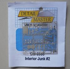 INTERIOR JUNK #2 1:24 1:25 DETAIL MASTER CAR MODEL ACCESSORY 2385