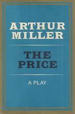 "ARTHUR MILLER ""The Price"" (1968) SIGNED First Printing FINE Hardcover in DJ"