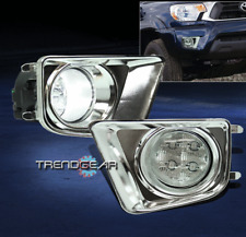 2012-2015 TOYOTA TACOMA BUMPER LED FOG LIGHT LAMP+CHROME COVER+SWITCH LEFT+RIGHT