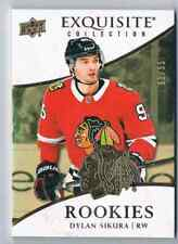 2018-19 EXQUISITE COLLECTION ROOKIES GOLD DYLAN SIKURA ROOKIE 91/95 CHICAGO