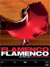 Affiche Pliée 40x60cm FLAMENCO FLAMENCO 2011 Carlos Saura - Israel Galvan NEUVE