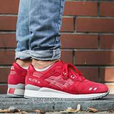 Asics Gel Lyte III Men's Running Shoes Size 11 Puddle Pack Red Sneakers H5U3L