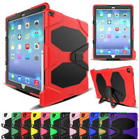 """Heavy Duty Shockproof Hybrid Rugged Hard Stand Defender Case For iPad Pro 12.9"""""""