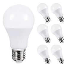 A19LED Light Bulbs Warm White2700K 6W(60W Equivalent) Non-Dimmable 500lm 6PACK