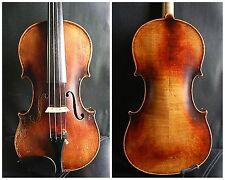 An Old  Violin 4/4 Full Size - Has restoration! Czeoho-Slovakia!