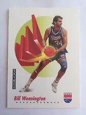 1991 SkyBox NBA Properties Basketball Card Sacramento Kings 253 Bill Wennington