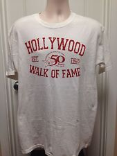 VINTAGE HOLLYWOOD WALK OF FAME T SHIRT LARGE