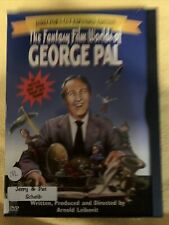 The Fantasy Film Worlds of George Pal (Dvd, 2000)