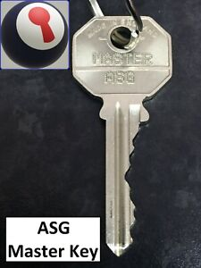 ASG Master key for Yale Suite 1st P&P Inc