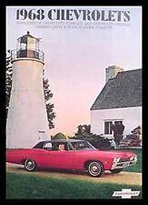 1968 Chevrolet Brochure- Chevelle SS Camaro 396!