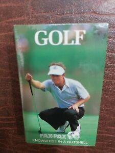 1986 FAX PAX Golf PGA Factory Set (36) SEALED BRAND NEW Nicklaus Stewart