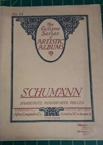 Vintage Music Sheet - The Eclipse Series of Artistic Albums