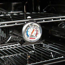 Stainless Steel Oven Cooker Thermometer Temperature Gauge Quality 300ºC 600ºF