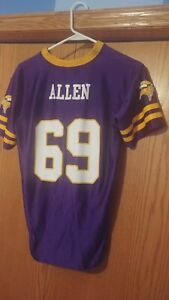 SWEET NFL Team Apparel Jared Allen Minnesota Vikings Youth Jersey XL 14-16 🏈🔥