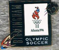 1996 Atlanta Olympic Soccer Birmingham Games Mark Sports Venue Pin