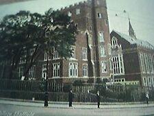 postcard used no stamp edwardian university college sheffield 21050