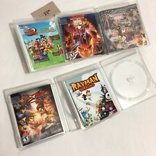 PS3 Empty Case Lot - Ultimate Marvel Capcom One Piece Rayman Origins Tekken