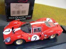 1/43 BANG FERRARI 412 P Monza 1967 Rouge #7 7104 S: Description