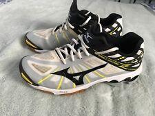 Mizuno Wave Lightning Women's Running Shoes - White/Gray/Black Sz 10 SC8
