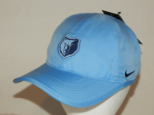 Nike Featherlight NBA Memphis Grizzlies Hat / Cap Lt Blue Strapback AO6096-422