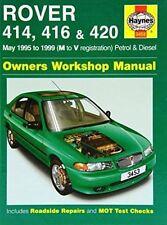 Rover 400 Haynes Workshop Manual 414 416 420 Petrol Diesel 1995-1999 1.4 1.6 2.0