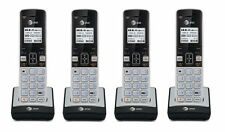 4 x AT&T TL86003 2 Line Connect-To-Cell Caller ID/Waiting ID Handset for TL86103