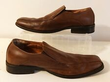 Bostonian Men's Brown Leather Slip On Loafers Size 12M