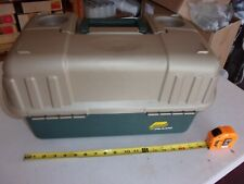 Plano Tackle Box Green & Beige *used