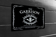 The Garrison Public House inspired Public house Metal Sign