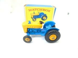 Matchbox 39c Ford Tractor in type E box