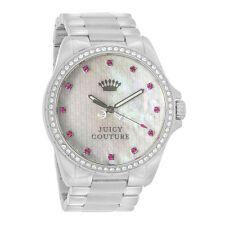 Juicy Couture Stella Series Ladies MOP Dial Crystal Quartz Watch 1901008