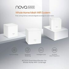 Tenda MW3 / MW6 Nova Wave 2 802.11AC, Mu-Mimo Whole Home Wi-Fi Mesh System