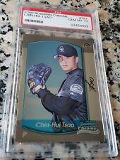CHIN HUI TSAO 2000 Bowman Chrome Rookie Card RC PSA 10 GEM MINT Hua Lien TAIWAN