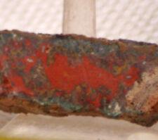 Morocco Jasper Seam Agate lapidary slab 0.6 ounce (15 grams)