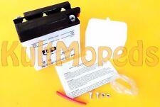 Batería adecuado para SIMSON S51 S50 SR50 MZ ES TS 125 150 6v 11-ah 6n11a ÁCIDO