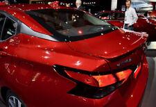 Fits: Nissan Versa 2020+ Factory Lip Style Rear Spoiler Primer Finish